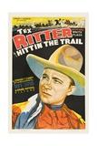 HITTIN' THE TRAIL  Tex Ritter  1937
