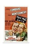 MR AND MRS SMITH  Robert Montgomery  Carole Lombard  1941