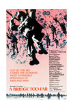 A BRIDGE TOO FAR  poster art  1977