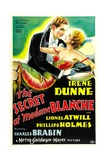 THE SECRET OF MADAME BLANCHE  from left: Lionel Atwill  Irene Dunne  1933