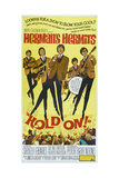 HOLD ON!  US poster  front center: Peter Noone  1966