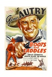 BOOTS AND SADDLES  Gene Autry  1937