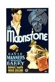 THE MOONSTONE  David Manners  Phyllis Barry  John Davidson  1934