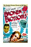 BROKEN BLOSSOMS  US poster art  from left: Emlyn Williams  Dolly Haas  Arthur Margetson  1936