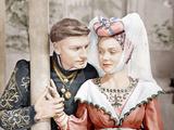 HENRY V  from left: Laurence Olivier  Renee Asherson  1944