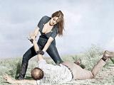 FASTER  PUSSYCAT! KILL! KILL!  from top: Tura Satana  Paul Trinka  1965