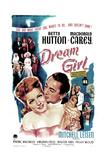 DREAM GIRL  US poster  Betty Hutton  Macdonald Carey  1948