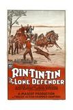 THE LONE DEFENDER  Rin Tin Tin  1930