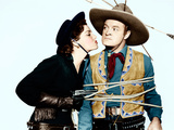 SON OF PALEFACE  from left: Jane Russell  Bob Hope  1952