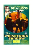 THE WHISPERING SHADOW  top and inset left: Bela Lugosi in 'Chapter 3: The All-Seeing Eye'  1933