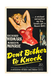DON'T BOTHER TO KNOCK  Marilyn Monroe  Richard Widmark  1952