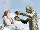 CREATURE FROM THE BLACK LAGOON  from left: Julie Adams  Ben Chapman  1954