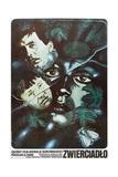 THE MIRROR  Polish poster  (aka ZERKALO  aka ZWIERCIADLO)   1975