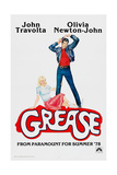 GREASE  John Travolta  Olivia Newton-John  1978  © Paramount Pictures/courtesy Everett Collection