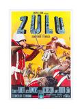 ZULU  Italian poster art  1964