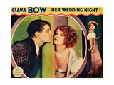 HER WEDDING NIGHT  l-r: Ralph Forbes  Clara Bow on lobbycard  1930