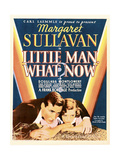 LITTLE MAN  WHAT NOW  US poster art  from let: Douglass Montgomery  Margaret Sullavan  1934