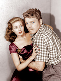 CRISS CROSS  from left: Yvonne De Carlo  Burt Lancaster  1949