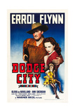 DODGE CITY  Errol Flynn  Olivia De Havilland  Ann Sheridan  1939