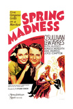 SPRING MADNESS  US poster art  from left: Maureen O'Sullivan  Lew Ayres  1938
