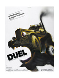 DUEL  French poster  1971