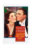 WOMEN ARE LIKE THAT  from left: Kay Francis  Pat O'Brien on midget window card  1938