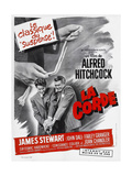 ROPE  (aka LA CORDE)  French poster  from left: Farley Granger  James Stewart  1948