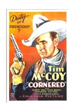 CORNERED  Tim McCoy  1932