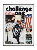 CHALLENGE ONE  French poster  Steve McQueen  1971