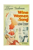 WINE  WOMEN AND SONG  from left: Lilyan Tashman  Lew Cody  1933