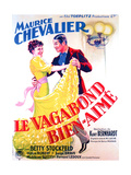 LE VAGABOND BIEN-AIME  French poster art  from left: Betty Stockfeld  Maurice Chevalier  1937