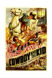 THE COWBOY AND THE KID  from top  Buck Jones  Bill Burrud  1936