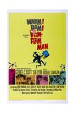 THE FLIM FLAM MAN  US poster  bottom pink photo: Michael Sarrazin  Sue Lyon  1967