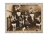 IT PAYS TO EXERCISE  bottom center: Chester Conklin on lobbycard  1918