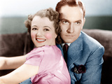 A STAR IS BORN  from left: Janet Gaynor  Fredric March  1937