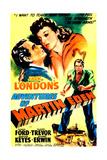THE ADVENTURES OF MARTIN EDEN  US poster  from left: Glenn Ford  Evelyn Keyes  1942