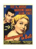 Honeymoon in Bali  Fred MacMurray  Madeleine Carroll  1939