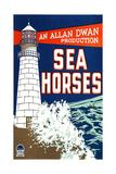 SEA HORSES  poster art  1926