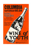 WINE OF YOUTH  inside the wine bottle  from left: William Haines  Eleanor Boardman  1924