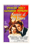 KEEPER OF THE FLAME  l-r: Katharine Hepburn  Spencer Tracy  1942