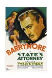 STATE'S ATTORNEY  Helen Twelvetrees  John Barrymore  1932