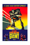 THE IRON GIANT  advance poster art  1999  ©Warner Bros Pictures/courtesy Everett Collection