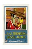 JESSE JAMES  Fred Thomson  1927