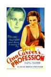 ANN CARVER'S PROFESSION  from left: Gene Raymond  Fay Wray on midget window card  1933