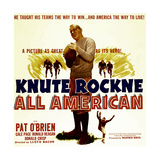 KNUTE ROCKNE ALL AMERICAN  Pat O'Brien  1940