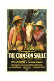 CRIMSON SKULL  left to right: Lawrence Chenault  Anita Bush  1921