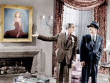 LAURA  from left: Gene Tierney  (in painting)  Clifton Webb  Dana Andrews  1944