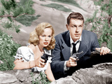 GUN CRAZY  (aka DEADLY IS THE FEMALE)  from left: Peggy Cummins  John Dall  1950