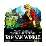 RIP VAN WINKLE  poster art  1921