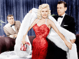 THE GIRL CAN'T HELP IT  from center: Jayne Mansfield  Tom Ewell  1956